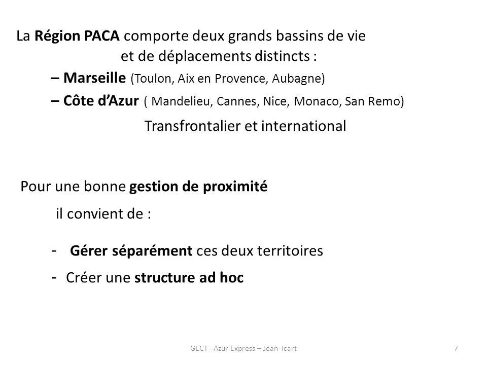 GECT - Azur Express – Jean Icart