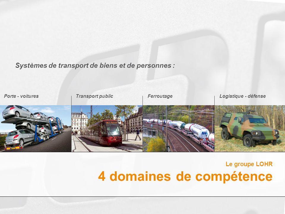 Systèmes de transport de biens et de personnes :