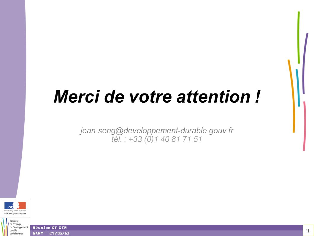 Merci de votre attention. jean. gouv