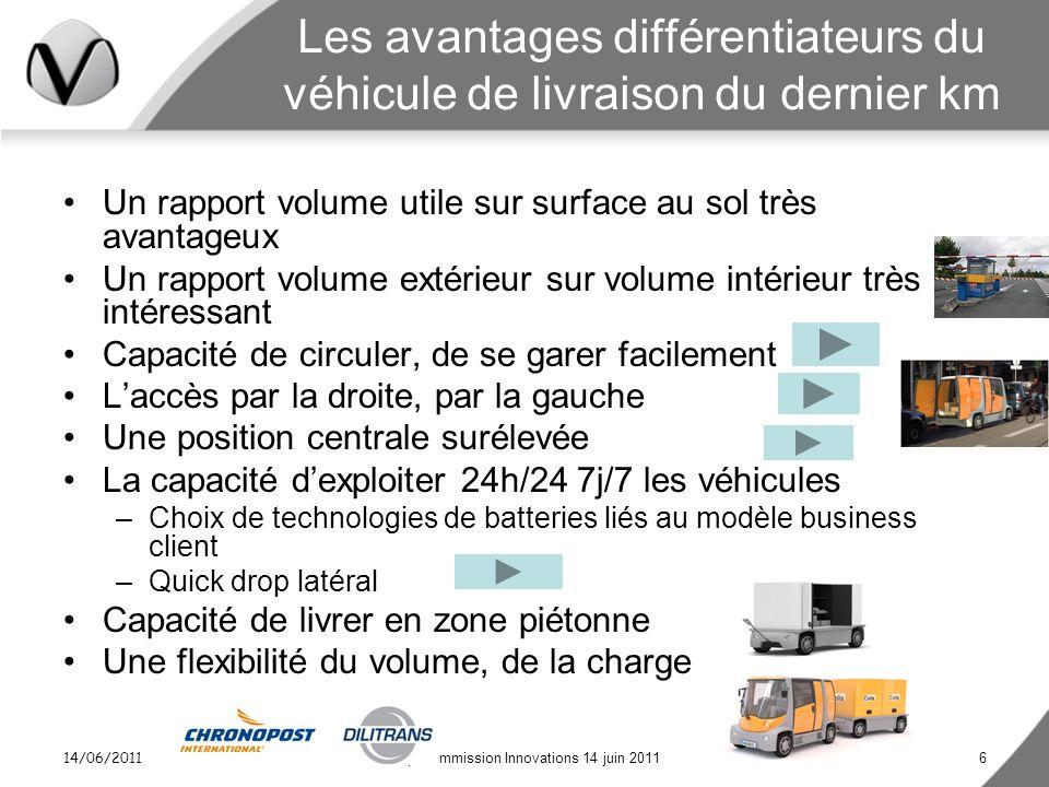 Les avantages différentiateurs du véhicule de livraison du dernier km