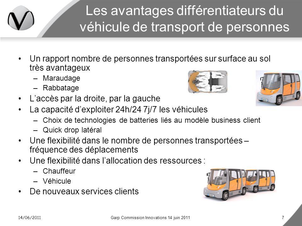 Les avantages différentiateurs du véhicule de transport de personnes