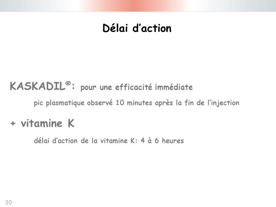 KASKADIL®: pour une efficacité immédiate