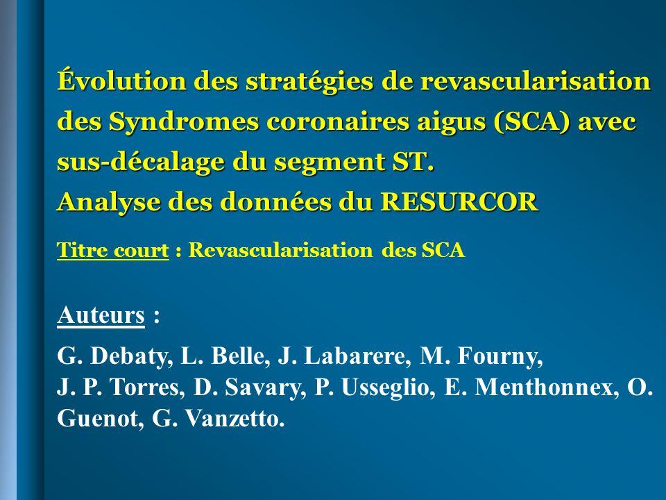 G. Debaty, L. Belle, J. Labarere, M. Fourny,