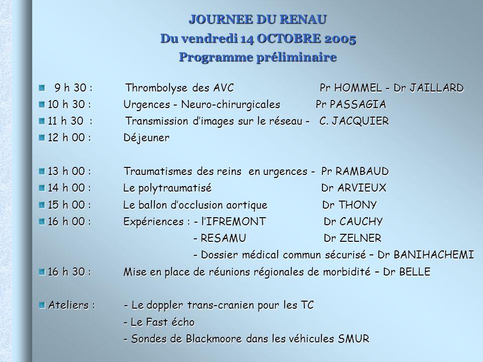 Programme préliminaire