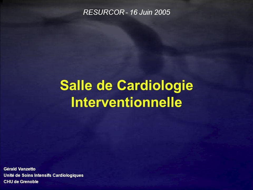 Salle de Cardiologie Interventionnelle