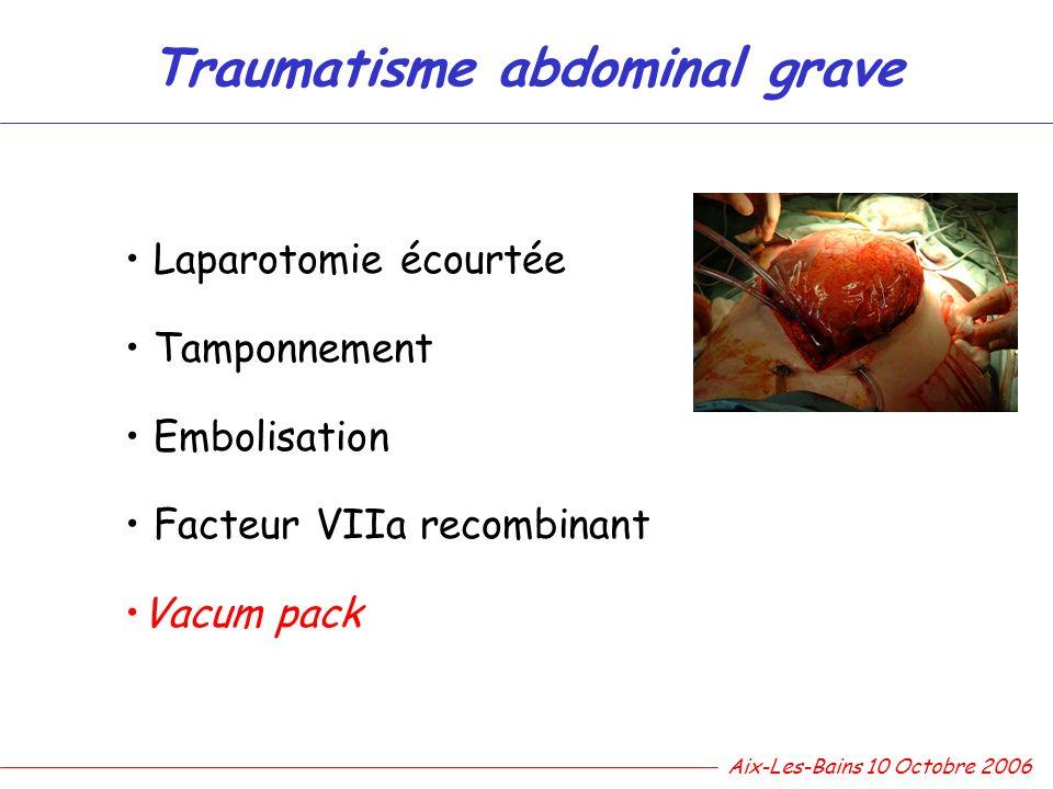 Traumatisme abdominal grave
