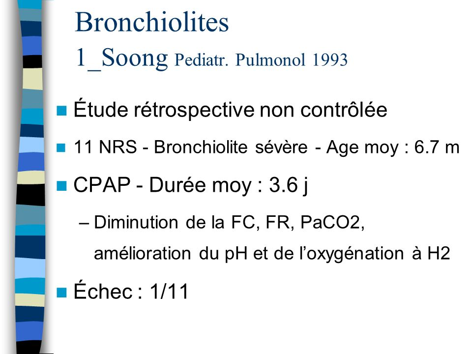 Bronchiolites 1_Soong Pediatr. Pulmonol 1993