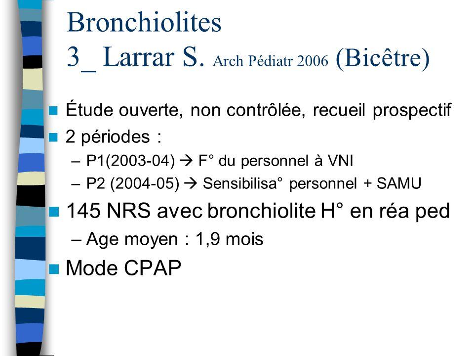 Bronchiolites 3_ Larrar S. Arch Pédiatr 2006 (Bicêtre)