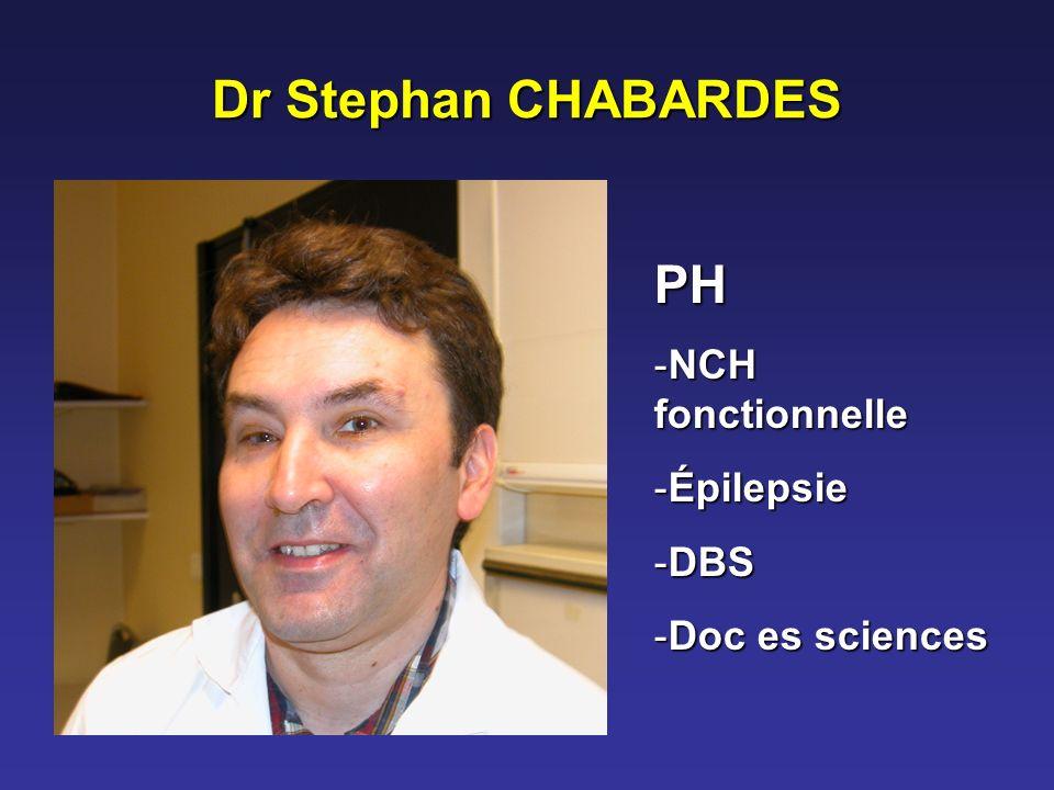 Dr Stephan CHABARDES PH NCH fonctionnelle Épilepsie DBS