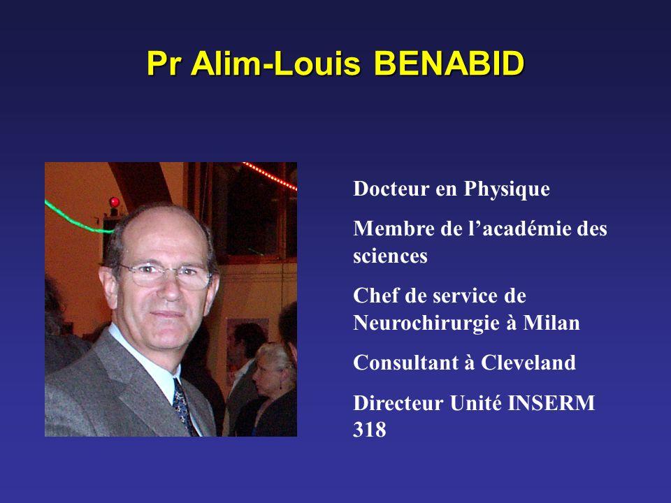 Pr Alim-Louis BENABID Docteur en Physique