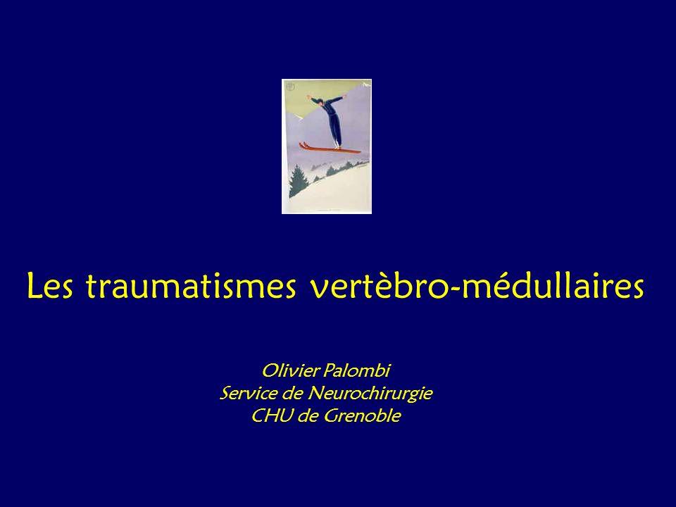 Les traumatismes vertèbro-médullaires