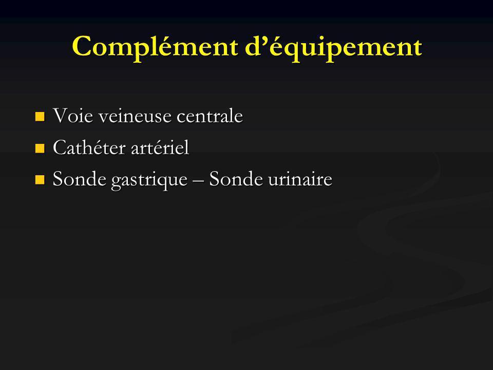 Complément d'équipement