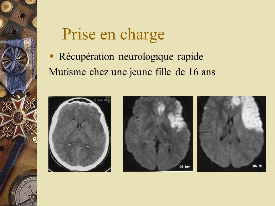 Prise en charge Récupération neurologique rapide