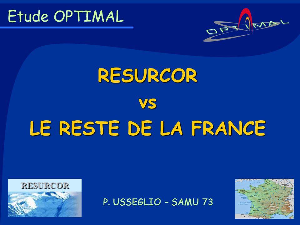 RESURCOR vs LE RESTE DE LA FRANCE