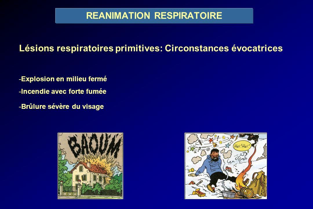 REANIMATION RESPIRATOIRE