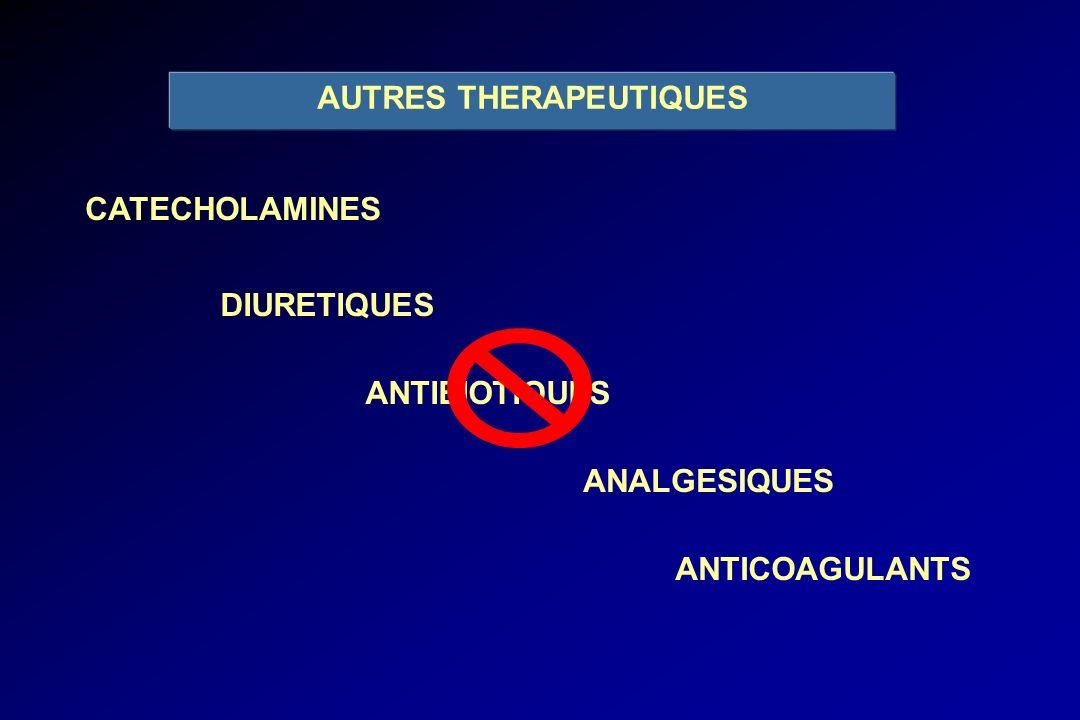 AUTRES THERAPEUTIQUES
