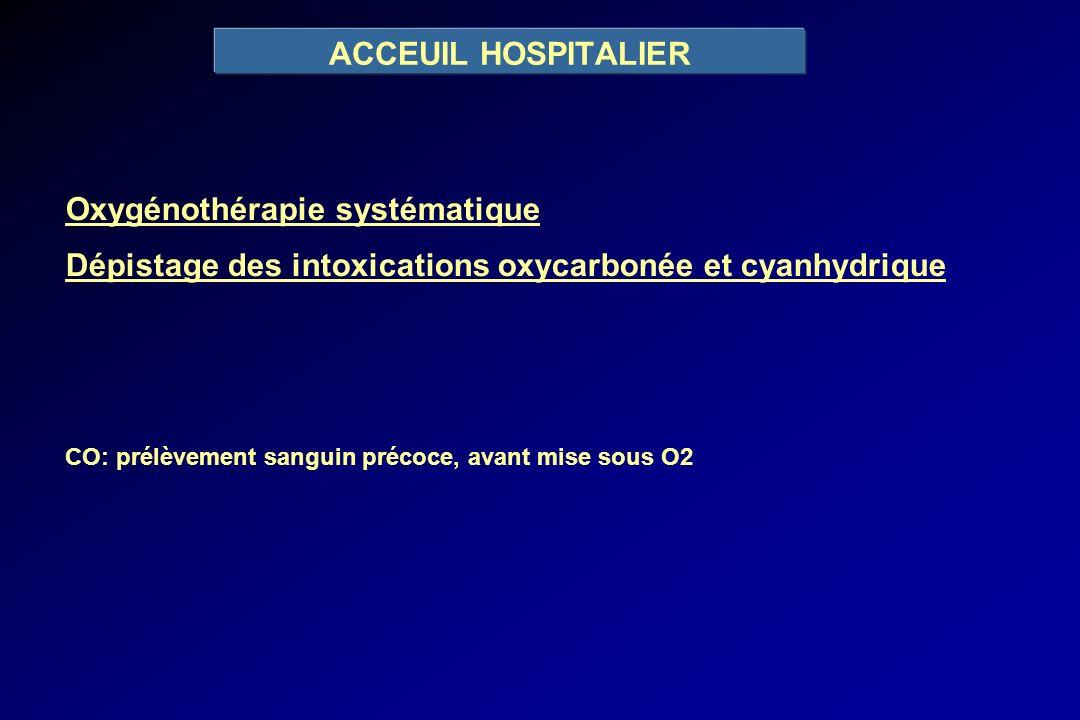 Oxygénothérapie systématique