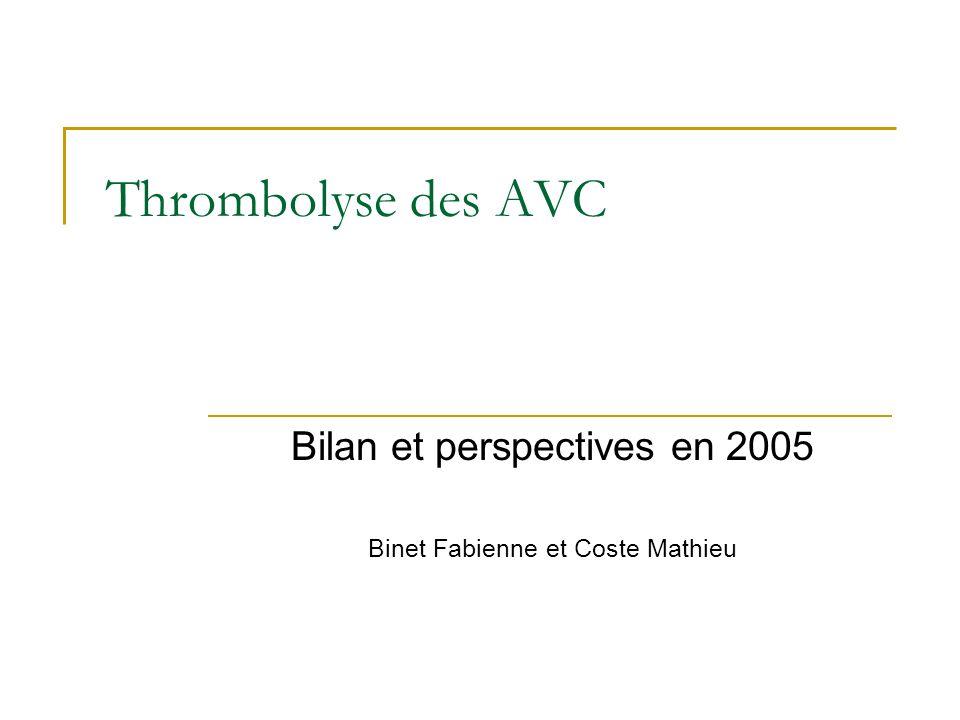 Bilan et perspectives en 2005 Binet Fabienne et Coste Mathieu