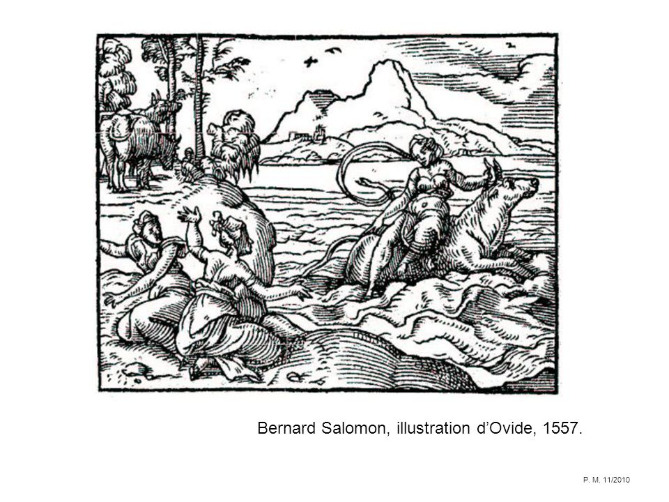 Bernard Salomon, illustration d'Ovide, 1557.