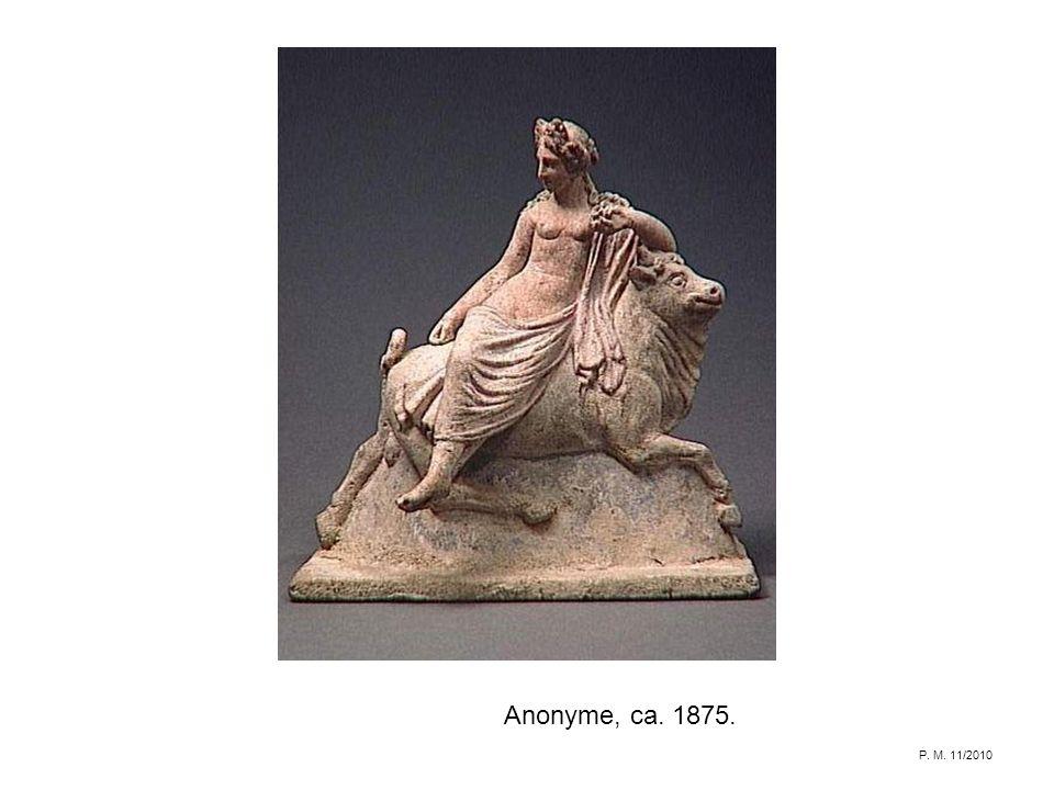 Anonyme, ca. 1875. P. M. 11/2010