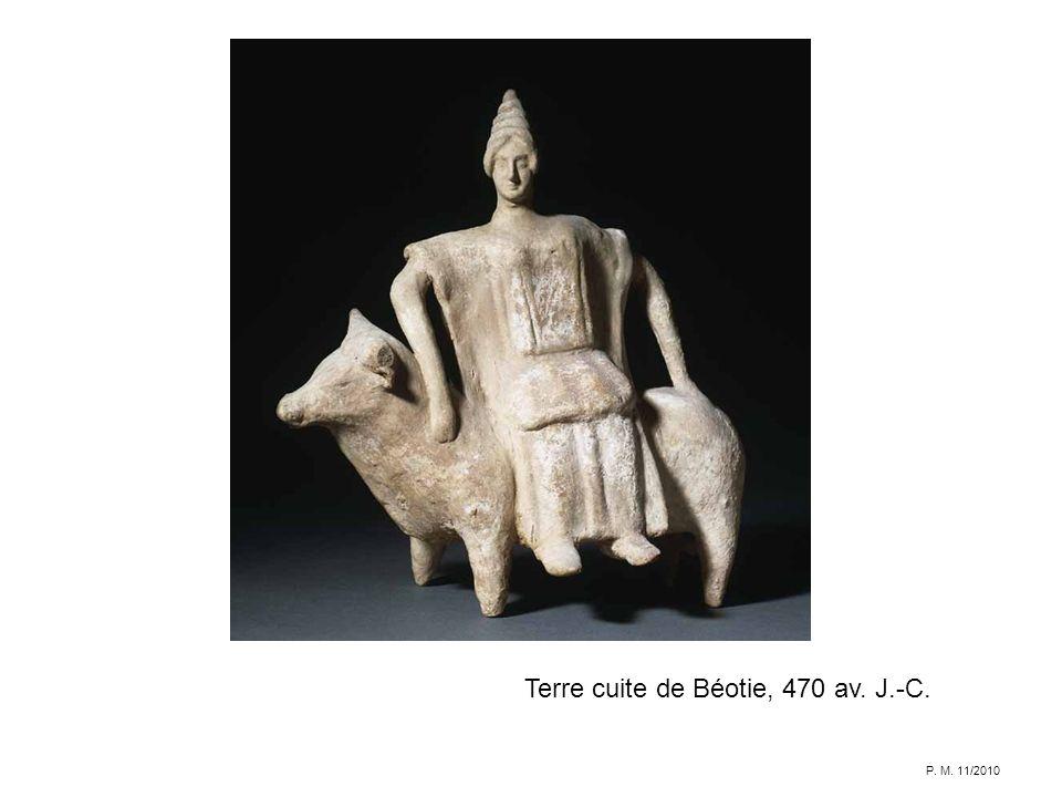Terre cuite de Béotie, 470 av. J.-C.