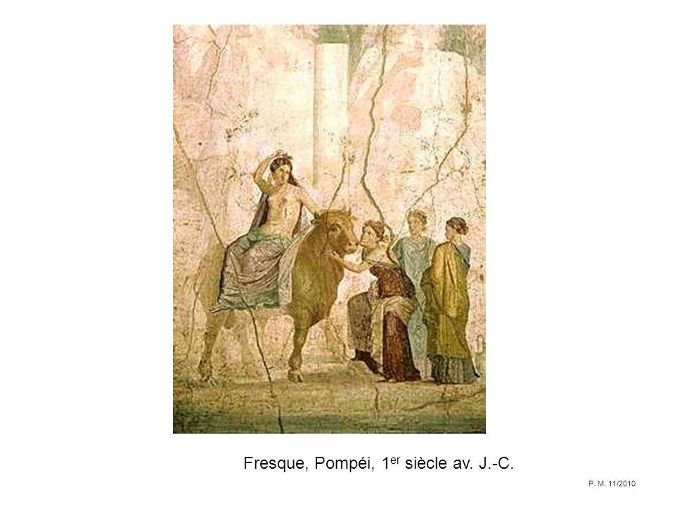 Fresque, Pompéi, 1er siècle av. J.-C.