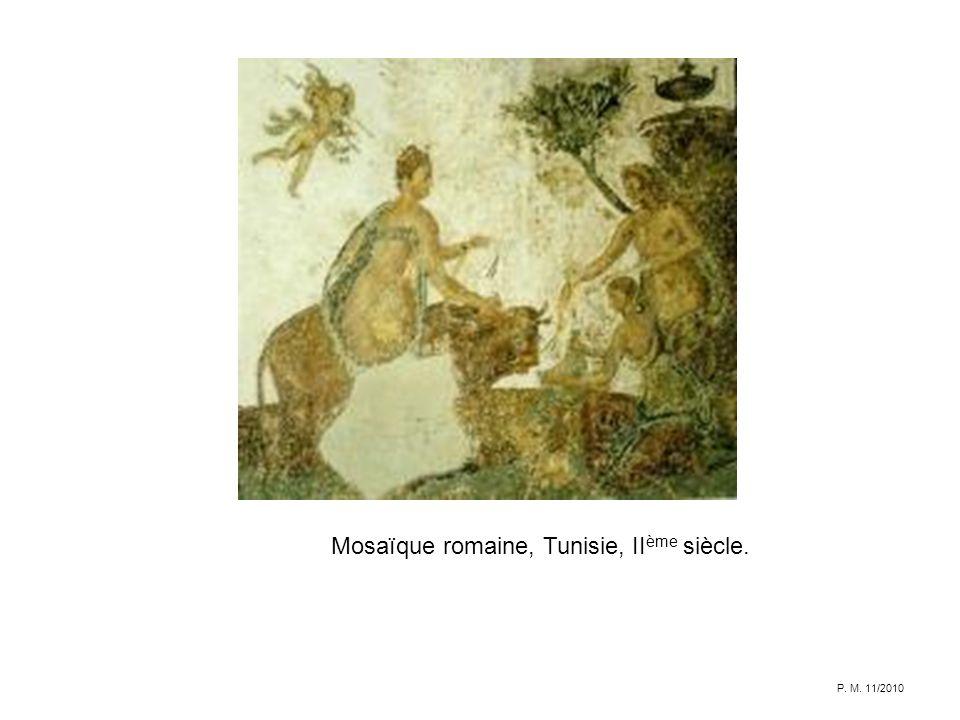 Mosaïque romaine, Tunisie, IIème siècle.