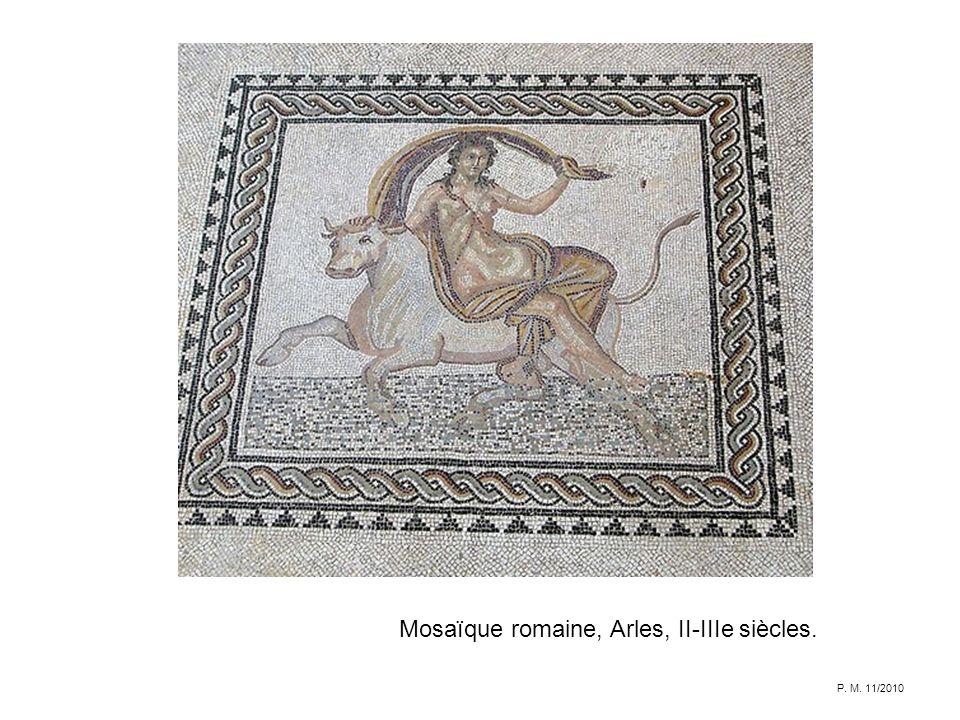 Mosaïque romaine, Arles, II-IIIe siècles.