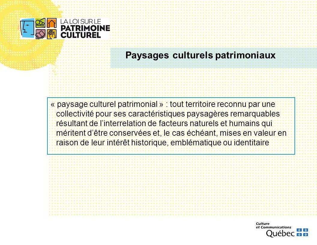 Paysages culturels patrimoniaux