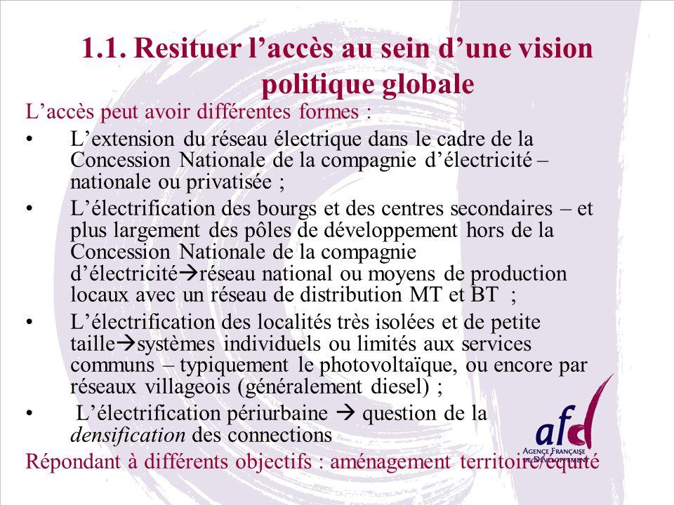 1.1. Resituer l'accès au sein d'une vision politique globale