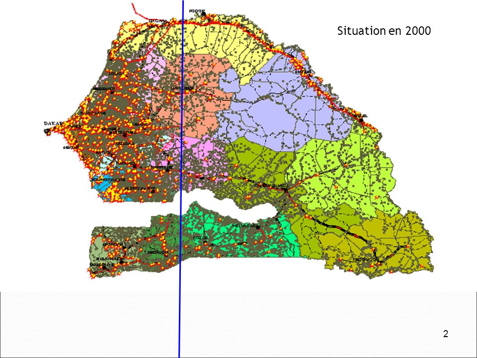 Situation en 2000 2