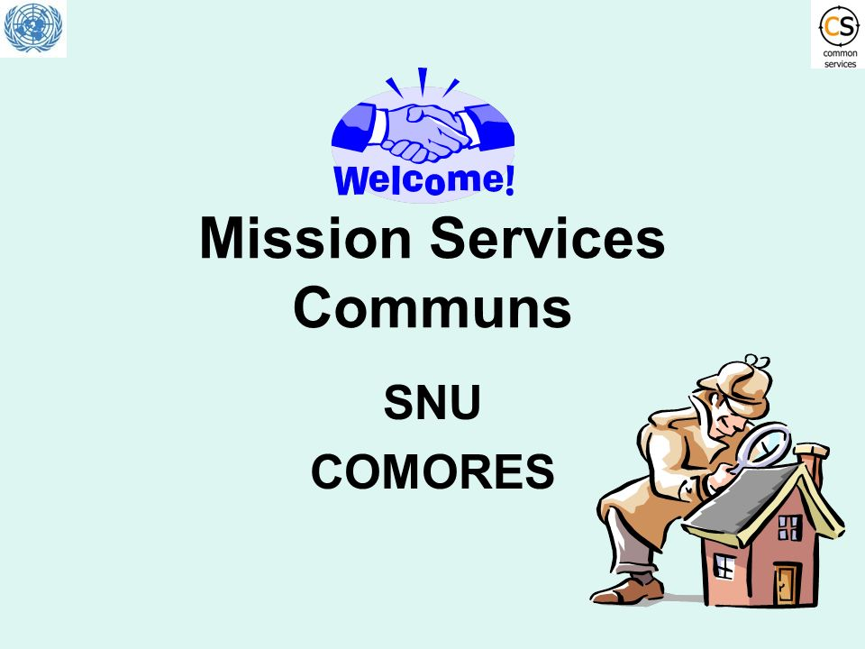 Mission Services Communs