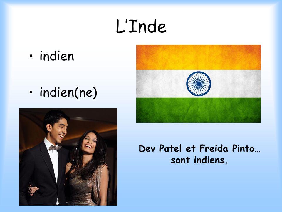 Dev Patel et Freida Pinto…