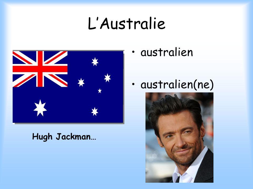 L'Australie australien australien(ne) Hugh Jackman…