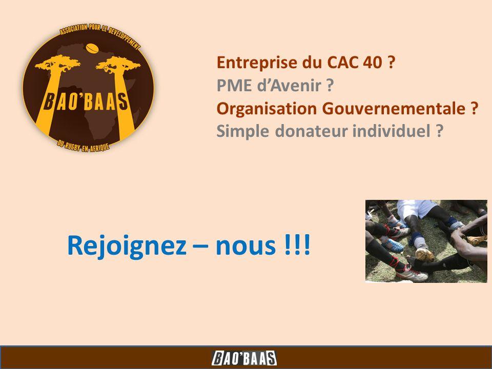 Rejoignez – nous !!! Entreprise du CAC 40 PME d'Avenir