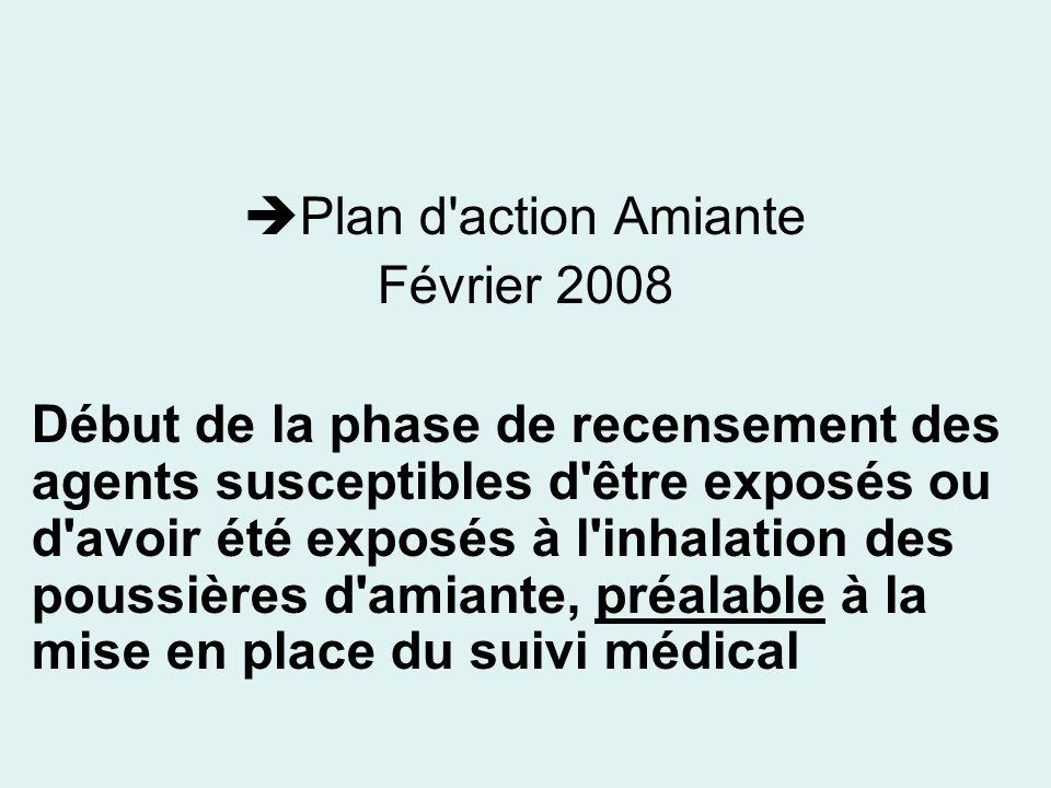 Plan d action Amiante Février 2008.