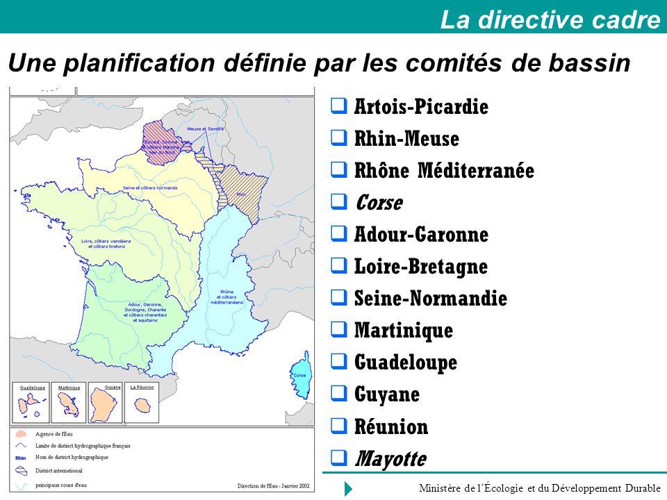 Une planification définie par les comités de bassin