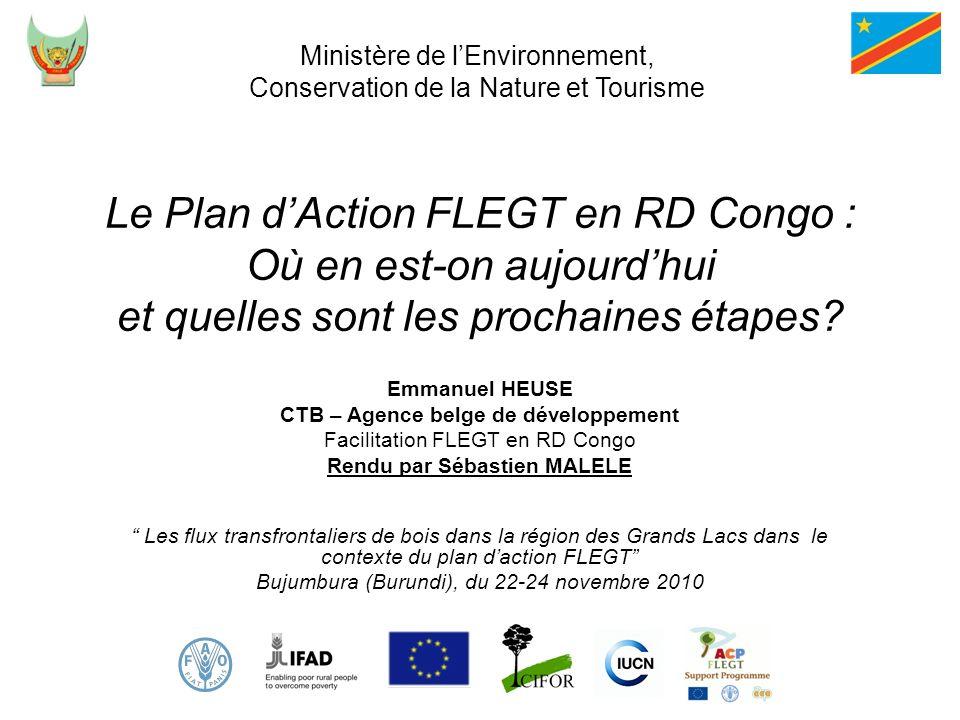 CTB – Agence belge de développement Rendu par Sébastien MALELE