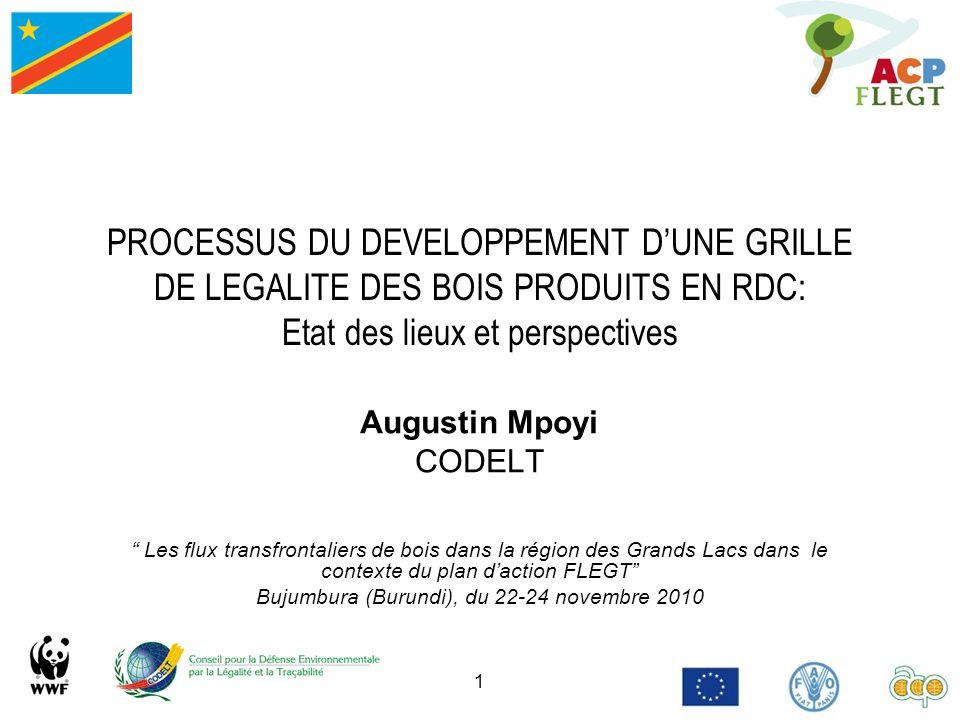 Bujumbura (Burundi), du 22-24 novembre 2010