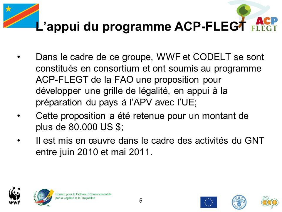 L'appui du programme ACP-FLEGT