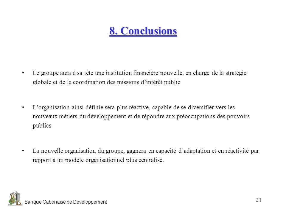 8. Conclusions