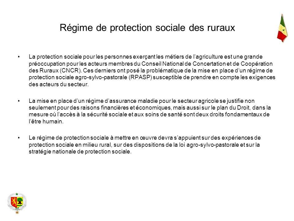 Régime de protection sociale des ruraux