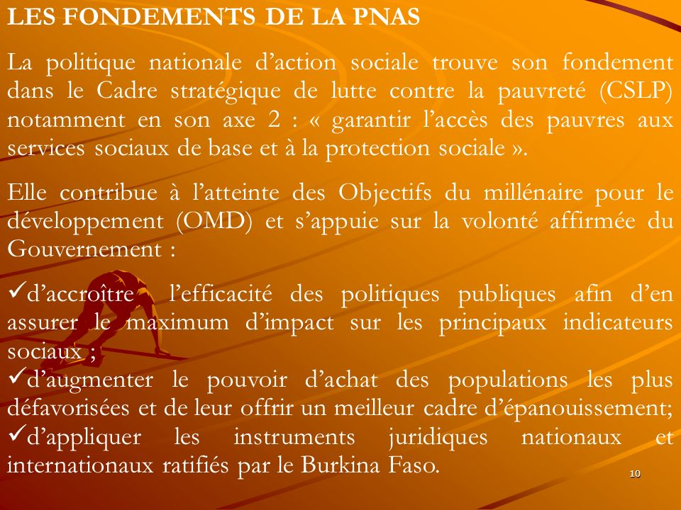 LES FONDEMENTS DE LA PNAS