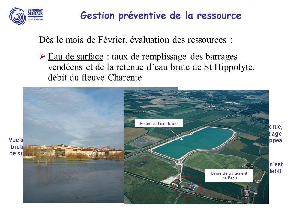 Gestion préventive de la ressource Fleuve Charente en crue