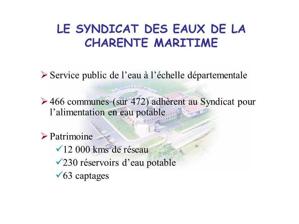 LE SYNDICAT DES EAUX DE LA CHARENTE MARITIME