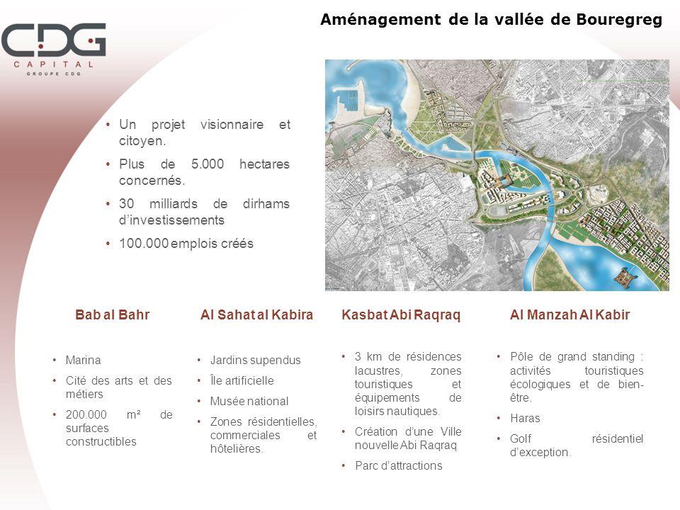 Aménagement de la vallée de Bouregreg