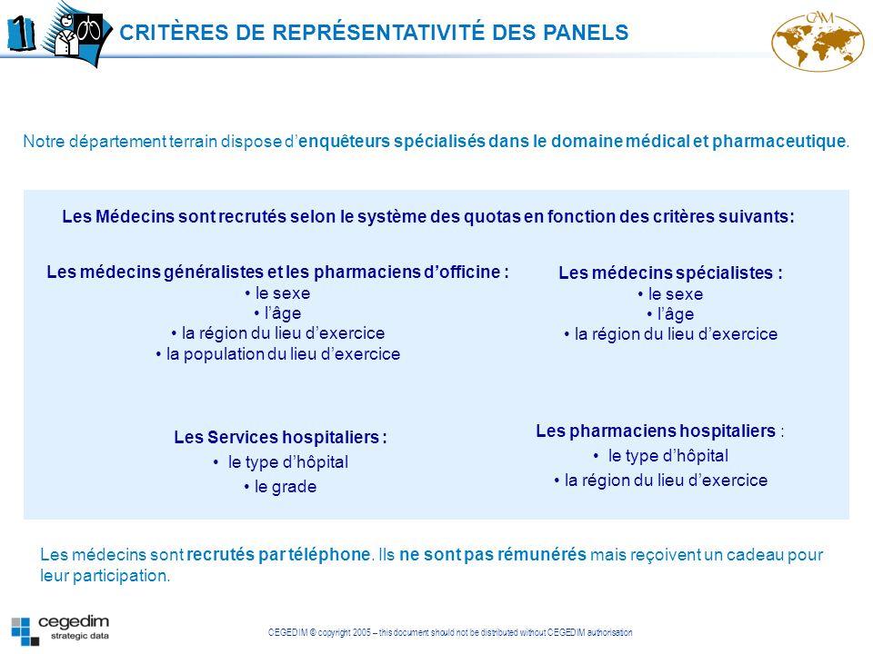 Les médecins spécialistes : Les Services hospitaliers :