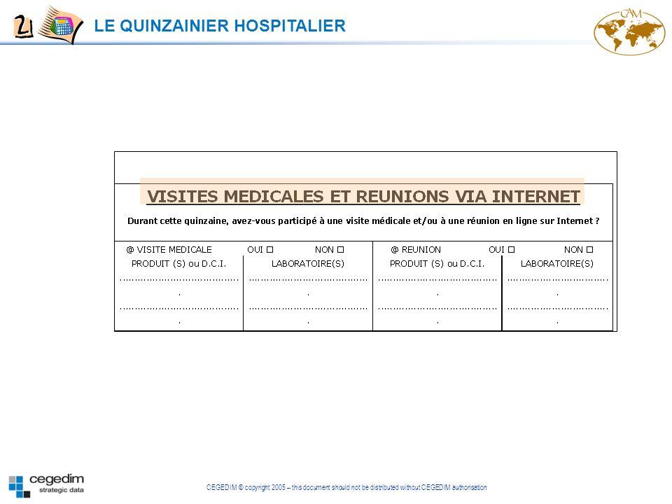 LE QUINZAINIER HOSPITALIER