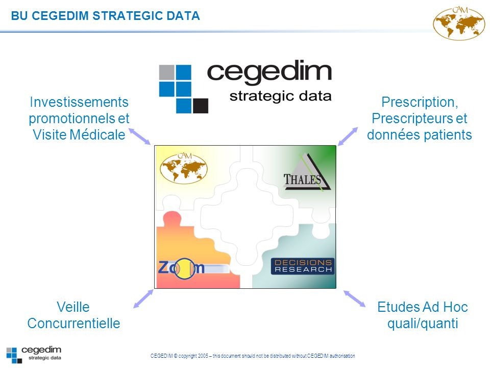 BU CEGEDIM STRATEGIC DATA