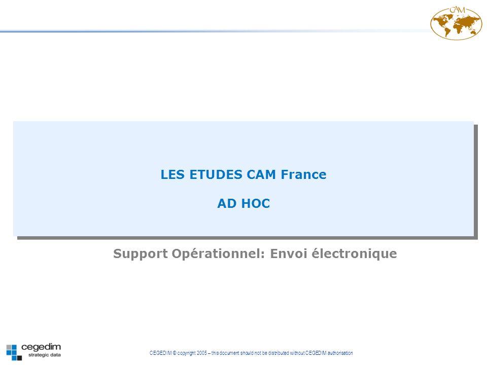 Support Opérationnel: Envoi électronique
